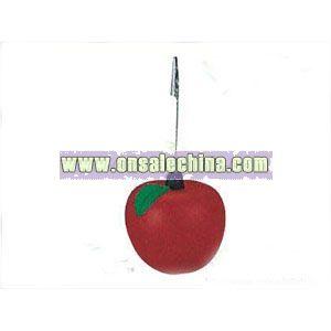 Apple Stress Name Card Clip
