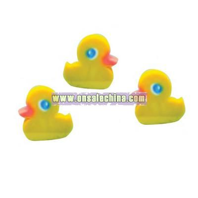 Duck shaped eraser