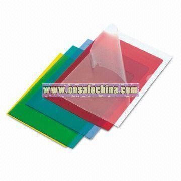 PVC Sheet Holder for Protection of Documents