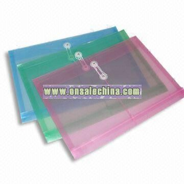 Expandable Envelope Bag with Transparent Smooth Texture