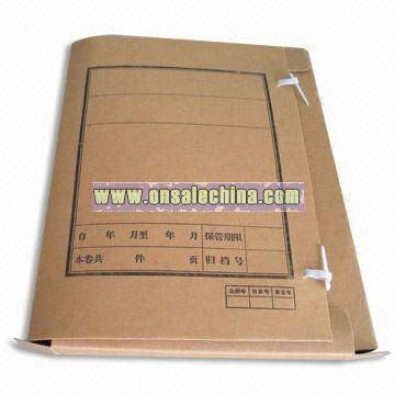 Document Kraft Paper Bag