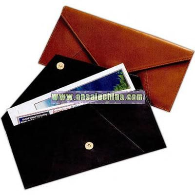 Document envelope for important papers