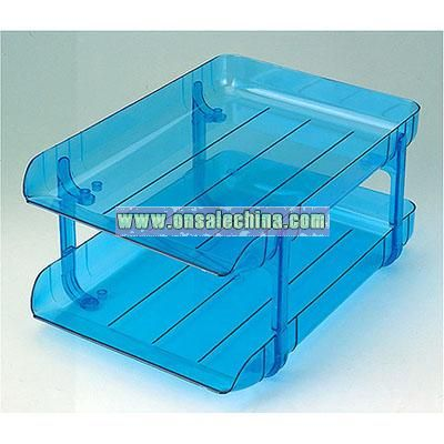 2 layer File Tray