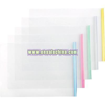 A3 big transparent slide grip folder