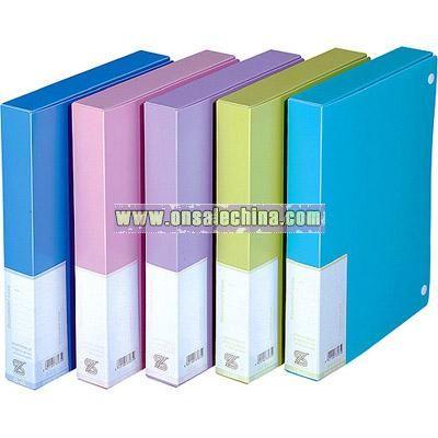 Colored chalk file box