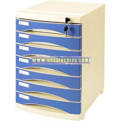 Slide 7 layer File Cabinet