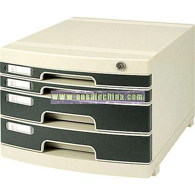 Slide 4 layer File Cabinet