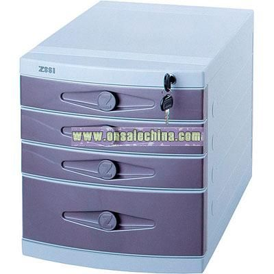 Pearl Series Filing Cabinet(4 layers)