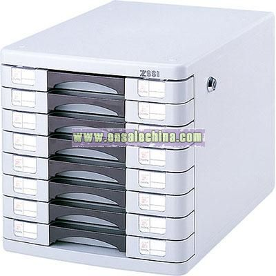 Multi-functional 8 Layer File Cabinet with Locks