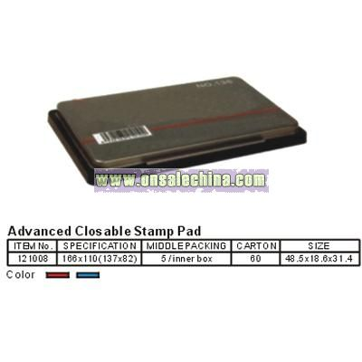 Advanced Closable Stamp Pad