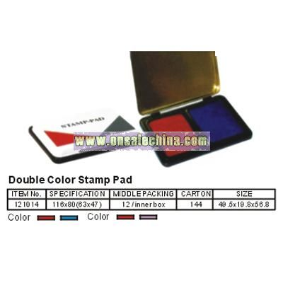 Dobule Color Stamp Pad