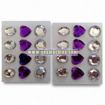 Crystal/Rhinestone Stickers