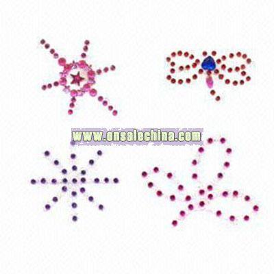 Body Crystal Tattoos/Rhinestone Stickers