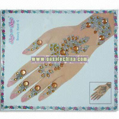 Shining Hand Stickers