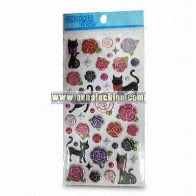 EVA Glitter Sticker