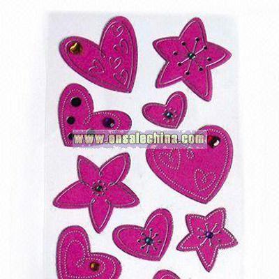 Plush Stickers
