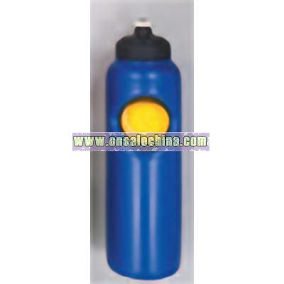 PVC Water Bottle with Tennis Stress Ball