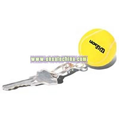 Tennis Stress Ball Key Chain