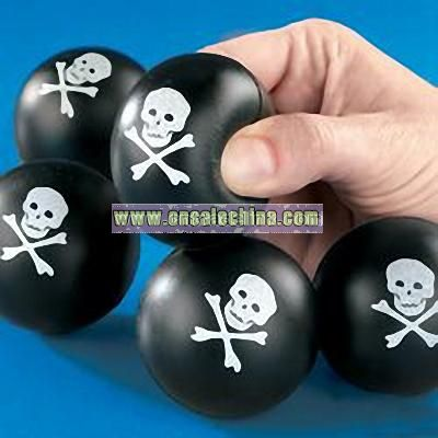 Skull & Cross Bones - Squeeze Ball