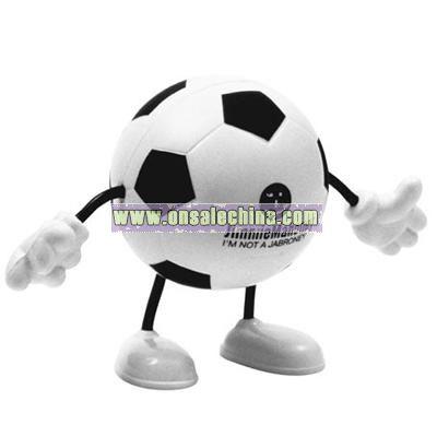 Soccer Figure Stress Balls