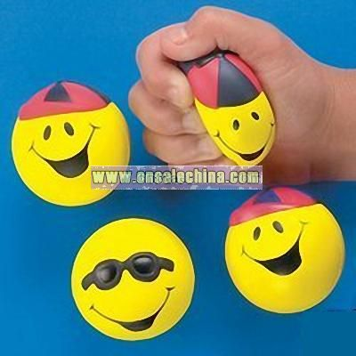 Smiley Face Stress Ball