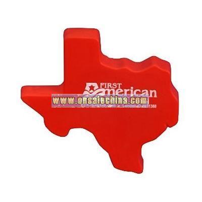 Texas Shape Stress Ball