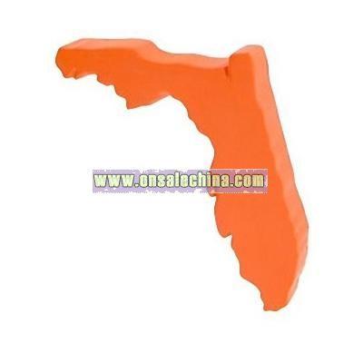 Florida Shape Stress Ball
