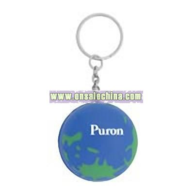 World Keychain Stress Ball