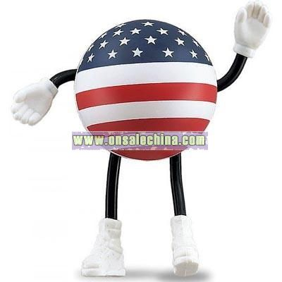 USA Stressball Man