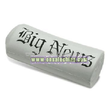 Newspaper Stress Balls - Rolled Up
