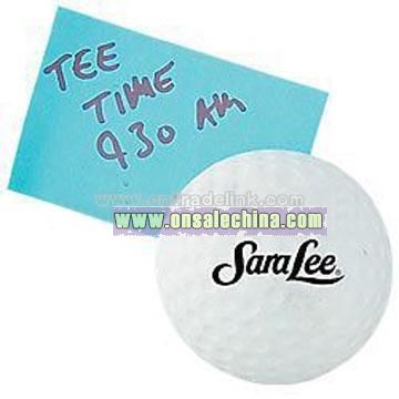 Golf Ball Magnet Stress Ball