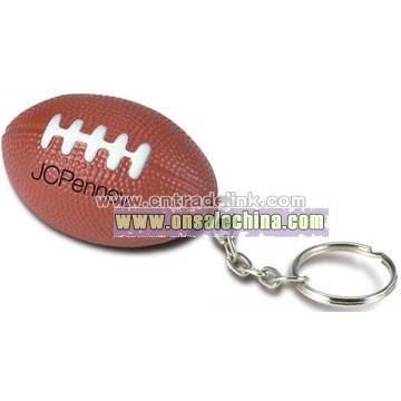 Football Key Chain Stress Balls