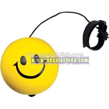 Smiley Bounce Back Stress Ball