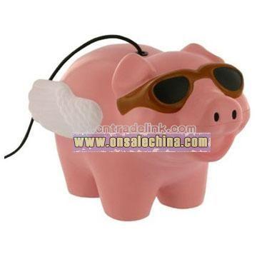 Flying Pig Bounce Back Stress Balls