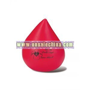 Red Blood Drop Stress Reliever