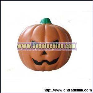 PU Funny Pumpkin Stress Ball