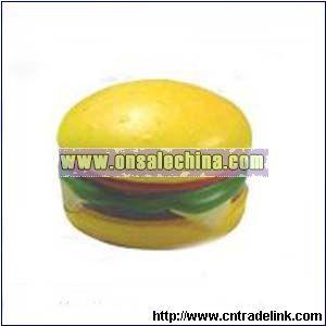 PU Hamburger Stress Ball