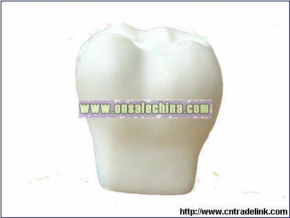 PU Tooth Stress Ball
