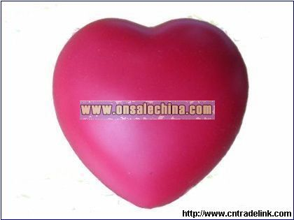 Valentine-Heart Stress Ball