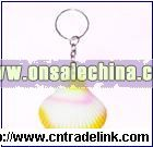 Shell Stress Ball With Key Ring