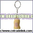 Peanut Stress Ball With Key Ring