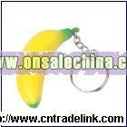 Banana Stress Ball with key ring