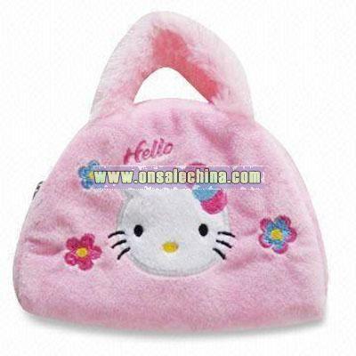 Plush Hello Kitty Bag