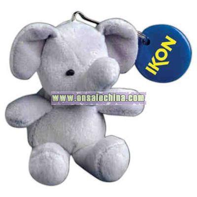 Elephant Shape Stuffed Animal with Key chain