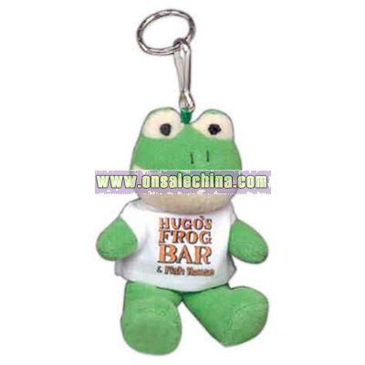 Frog Shape Stuffed Animal with Key Chain