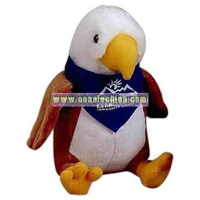 Stuffed Eagle with t-shirt