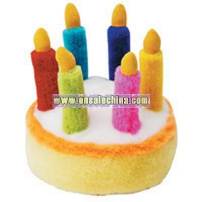 Birthday Cake Plush Musical Toy