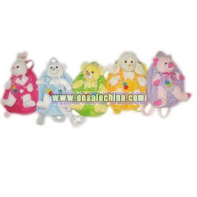 Plush Animals Backpack