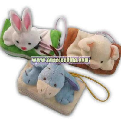 plush toy purse