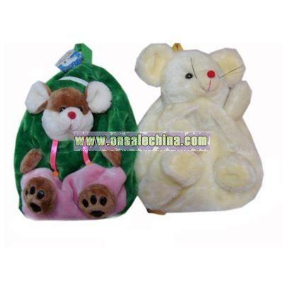 Animals Plush Backpack